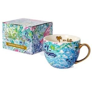 Lilly Pulitzer Bohemian Queen Mug